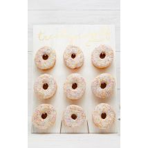 Ginger Ray - Distributeur mural blanc de donuts, Blanc