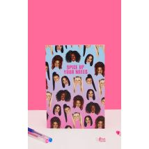 Central 23 Spice Girls Spice Up Your Notes A5 Note Book, Pink
