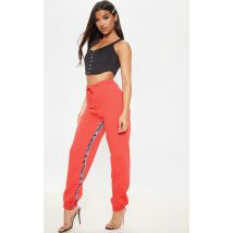 Jogging rouge PRETTYLITTLETHING, Rouge