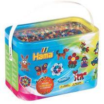 Hama 10,000 Beads and 5 Pegboards Bucket Set