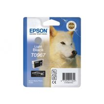 Epson T0967 - light black - original - ink cartridge