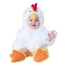Déguisement petit poulet pour bébé - Luxe