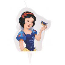 Bougie d'anniversaire Princesses Disney Blanche Neige 6 x 7,3 cm
