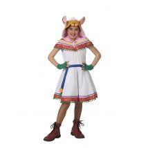 Déguisement péruvienne enfant