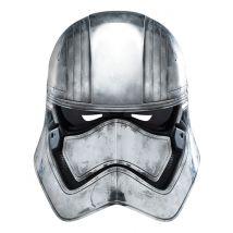 Captain Phasma Maske Star Wars grau-schwarz