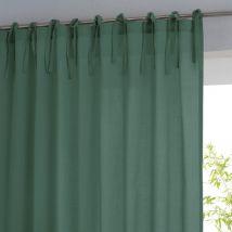 La Redoute Interieurs Tenda Con Laccetti Puro Cotone, Scenario Verde Taglie 180 x 135 cm