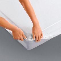 La Redoute Interieurs Protector de colchón impermeable. Talla 160 x 200 cm. Color Blanco