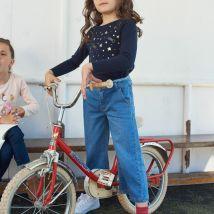 LA REDOUTE COLLECTIONS Jeans Larghi 3-14 Anni