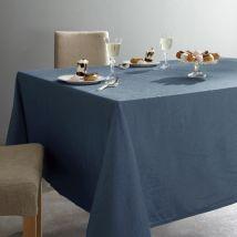 La Redoute Interieurs Mantel de poliéster arrugado CERYAS. Talla 150 x 200 cm. Color Azul