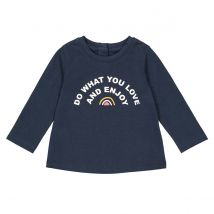 LA REDOUTE COLLECTIONS T-shirt Maniche Lunghe Fantasia 1 Mese-4 Anni