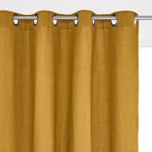 La Redoute Interieurs Tenda Con Occhielli In Puro Cotone, Scenario Giallo Taglie 260 x 135 cm