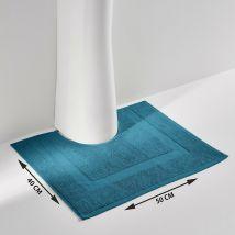 La Redoute Interieurs Tappeto Da Bagno Tinta Unita In Spugna 700 G/m², Scenario Blu Taglie 40 x 50 cm