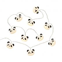 8 LED Panda Fairy Lights L165 (5x165x0cm) - Maisons du Monde