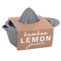 Anthracite Grey Lemon Squeezer - 14.3x17.7x11cm - Maisons du Monde