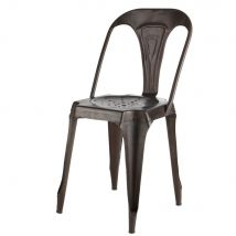 Black Metal Industrial Chair Multipl's (41x84x52cm) - Maisons du Monde