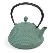 Cast iron teapot in blue (13x12x0cm) - Maisons du Monde