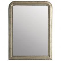 Champagnerfarbenen Spiegel aus Paulownienholz 90x120 - Gold - 90x120x0cm - Maisons du Monde