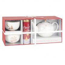 Coffret thé CLASSIC CHRISTMAS - Blanc - 0x0x0cm - Maisons du Monde