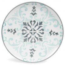Dessertbord van blauw/grijs aardewerk D21 HECTORINE - Blauw - 21x0x0cm - Maisons du Monde