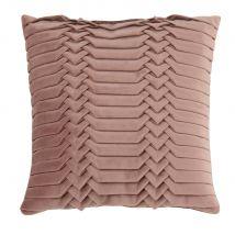 Fodera di cuscino grigia con rilievi, 40x40 cm - Grigio - 40x40x0cm - Maisons du Monde