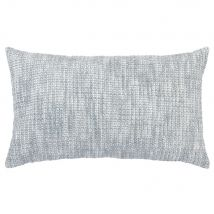 Grey Marled Cotton Cushion Cover 30x50cm - 30x50x0cm - Maisons du Monde