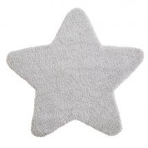 Grey Star Rug 100x100 - 100x100x0cm - Maisons du Monde