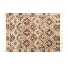 Kilim-Teppich aus mehrfarbiger Baumwolle und Jute 160x230 - Multicolor - 160x230x2cm - Maisons du Monde