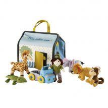 Maison zoo pour enfant - Multicolore - 21x18x15cm - Maisons du Monde