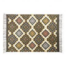 Mehrfarbiger Kilim-Teppich aus Wolle und Baumwolle 140x200 - Multicolor - 140x200x2cm - Maisons du Monde