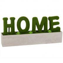 Mot déco à poser imitation pelouse L30 - Vert - 30x14x6.5cm - Maisons du Monde