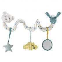 Orsacchiotto per stimolare i sensi del neonato a spirale multicolore - Multicolore - 20x12x17cm - Maisons du Monde