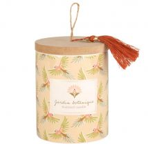 Scented Candle with Printed Ceramic Holder and Lid (8.5x11x0cm) - Maisons du Monde