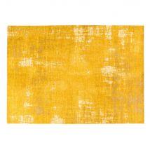 Senfgelber Teppich mit Jacquardmuster 200x290 - 200x290x0cm - Maisons du Monde