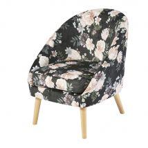 Sessel mit Blumen-Druckmuster Suzie - Multicolor - 61x76x66cm - Maisons du Monde