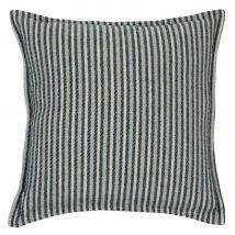 Striped Cotton Cushion Cover 40x40 (40x40x0cm) - Maisons du Monde
