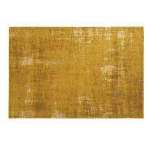 Tapis en coton jaune moutarde 155 x 230 cm FEEL - 155x230x2cm - Maisons du Monde