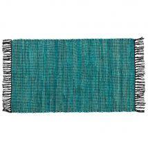 Teppich aus Baumwolle, blau 50x80 - Grün - 80x50x0cm - Maisons du Monde