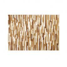 Teppich aus Kuhleder in Kastanienbraun und Beige 140x200 - 140x200x0.5cm - Maisons du Monde