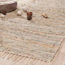 Teppich Mira Gold 140x200 - Beige - 140x200x0cm - Maisons du Monde
