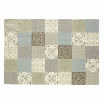 Teppich mit Fliesenmotiv 160 x 230 cm PROVENCE - Multicolor - 160x230x1cm - Maisons du Monde