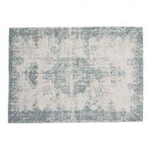 Teppich VILLANDRY, 155 x 230 cm, blau - 155x230x2cm - Maisons du Monde