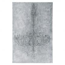 Toile grise 100x150 - 100x150x4cm - Maisons du Monde
