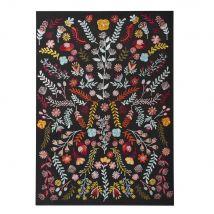 Wanddeko aus Baumwolle, bestickt 71x100 - Multicolor - 70.5x100x2.5cm - Maisons du Monde