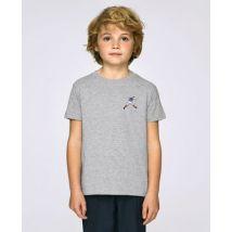 T-Shirt enfant Zizou Gris taille 5 - 6 ans