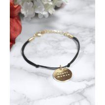 Bracelet Bracelet Super Maman Noir taille TU