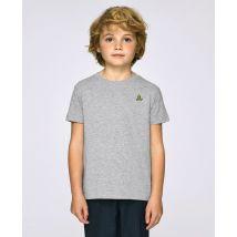 T-Shirt enfant Banane (brodé) Gris taille 9 - 11 ans $Monsieur T-Shirt Kids