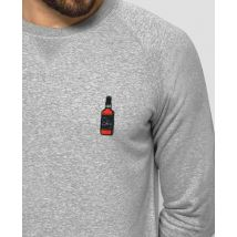 Sweatshirt homme Broderie Sky Gris taille M