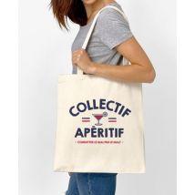 Tote bag Collectif apéritif Naturel taille TU