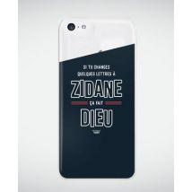Coque smartphone Zidane (Jésus) Transparent taille iPhone 5c