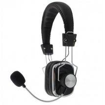 Casque Audio Hifi Avec Microphone Pour Jeux Ou Communication - ECO-LIFE